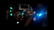 تجمع هواداران روحانی در شب اعلام نتایج