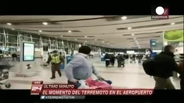 زلزله هشت ریشتری در شیلی