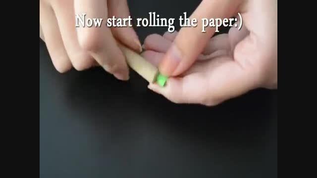 جاشمعی کاغذی درست کنید