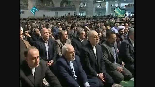 حضور حاج آقا احرابی در نماز جمعه تهران - خلخال-کوثر