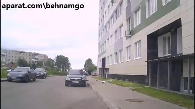 خودکشی عجیب مرد جوان در خیابان....!