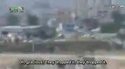 اصابت موشک زمین به زمین به مقر تروریست ها در سوریه