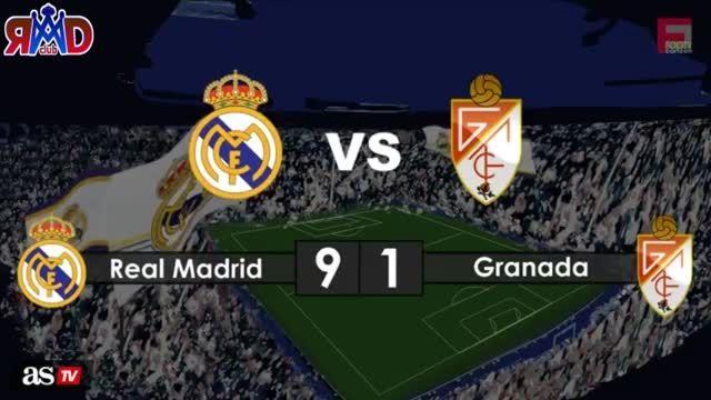 یک طنز جذاب و دیدنی از پیروزی 9-1 رئال مادرید