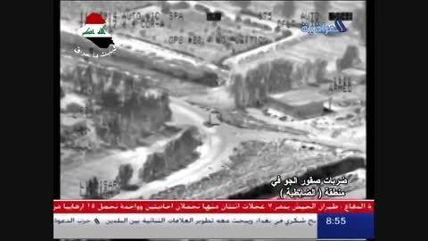 جت سوخو و سایت داعش (بسیار جالب) موصل -سوریه
