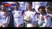 عکس دسته جمعی کریس رونالدو با بازیکنان رئال