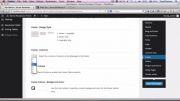 5- تنظیمات مربوط به فوتر