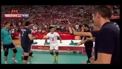 صبرستان ۱-۳ ایران؛ والیبال قهرمانی جهان ۲۰۱۴