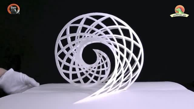 کاردستی های سه بعدی زیبا با کاغذ