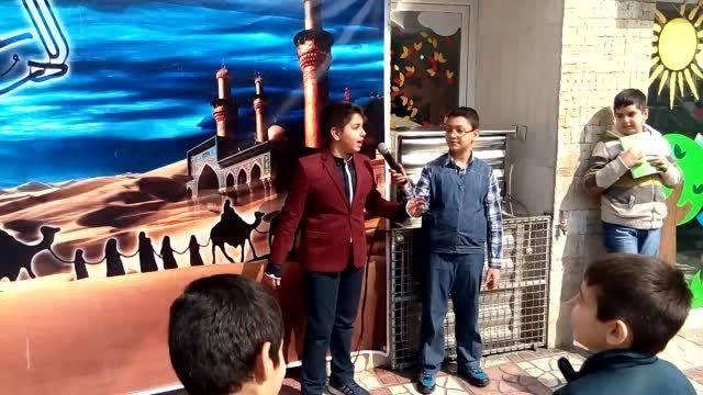 تئاتر با موضوع امام زمان دانش آموزان نهال دانش