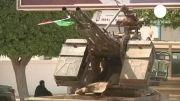 وزارت خارجه لیبی محاصره شد