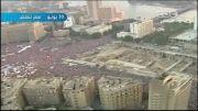 تصاویر هوایی از تظاهرات علیه محمد مرسی در مصر