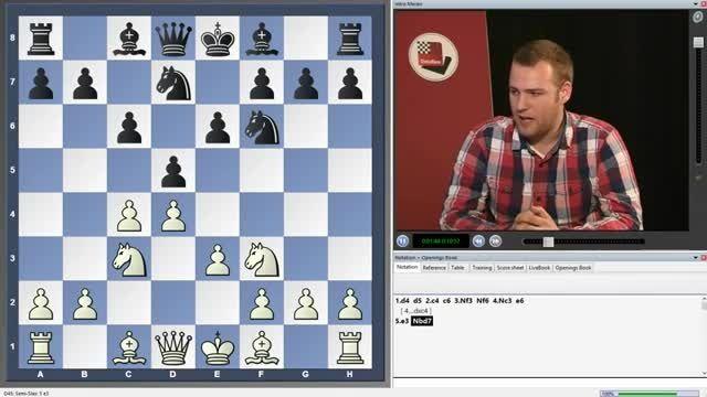 فیلم شطرنج تاکتیک های مران دفاع نیمه اسلاوchessok.ir