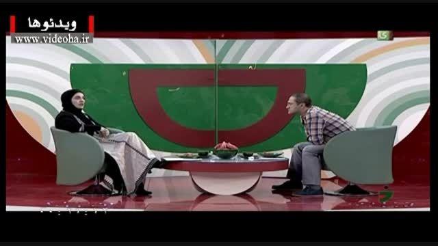 شوخی خنده دار جناب خان با رویا نونهای