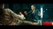 دعوای رزمی دختر شرقی و دختر غربی!!(سانسور فیلم جکی چان)