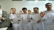 مراسم پیمان ایجنت و مرزبانان نمایندگی صالحی در روز افتتاح این نمایندگی