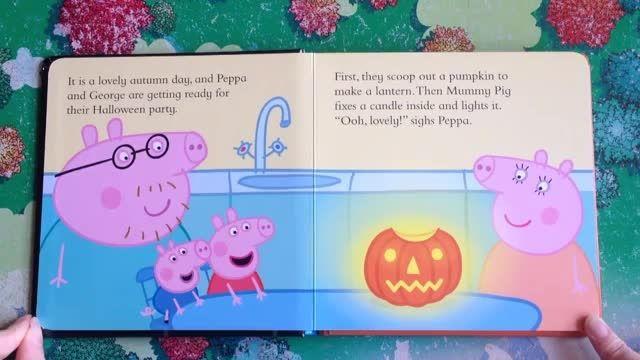 دانلود کتاب داستان انگلیسی Peppa Pig Pumpkin Party