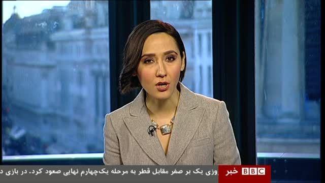 سوتی کارشناس بی بی سی و تذکر مجری