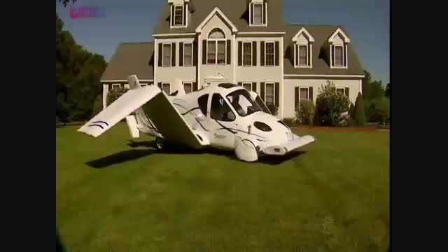 گلچین صفاسا: ماشین پرنده+فیلم کلیپ هواپیما خودرو پرواز
