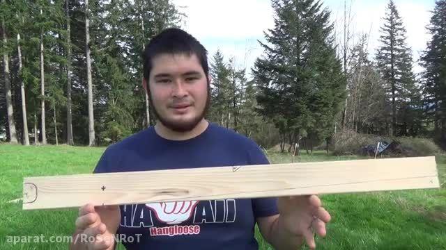 ساخت کراسبو 100پوندی با قیمت تمام شده زیر 10 دلار قسمت1