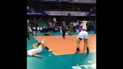 تمرین ملی پوشان (والیبال)