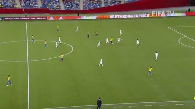 بازی:کره جنوبی 0 - 2 برزیل (جام جهانی زنان 2015 کانادا)