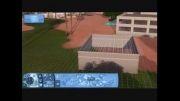 روش ساخت نیم دیوار با تمام قابلیت های یک دیوار کامل در بازی سیمز