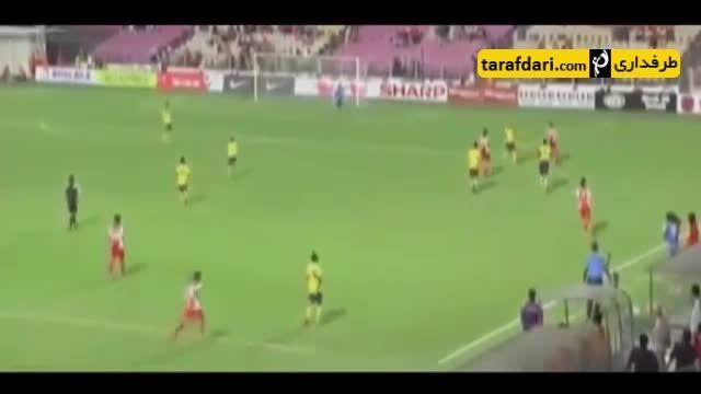 لحظات بامزه داوران در دنیای فوتبال