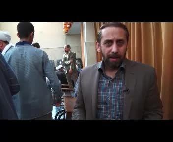 """مصاحبه حاج احمد واعظی در مورد تجمع """"اجازه نمی دهیم"""""""