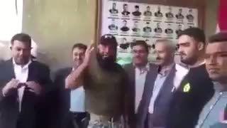 ابوعزرائیل در دیدار نایب رییس شورای عالی انقلاب یمن