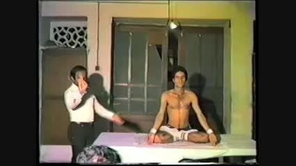 نمایش حرکات شگفت انگیز یوگا سید عبدالحمید موحدی نائینی