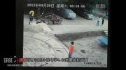 لحظه زلزله 6.6 ریشتری چین