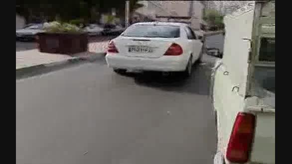 «دور دور» لوکس سواران در خیابان های شمال تهران