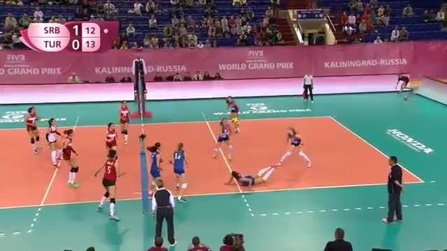 صربستان 3 - ترکیه 1 | جایزه بزرگ جهان ۲۰۱۵