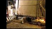 کشته در تصادف کامیون با کاروان عروس