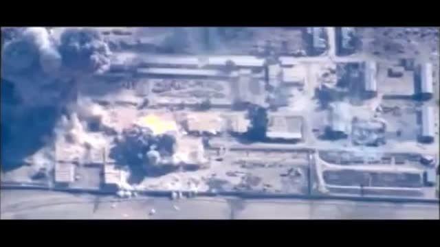 عملیات نیروهای ائتلاف بر ضد داعش در استان حسکه سوریه