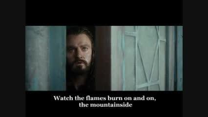 آهنگ هابیت 2 ( I see fire ) به همراه صحنه هایی از فیلم