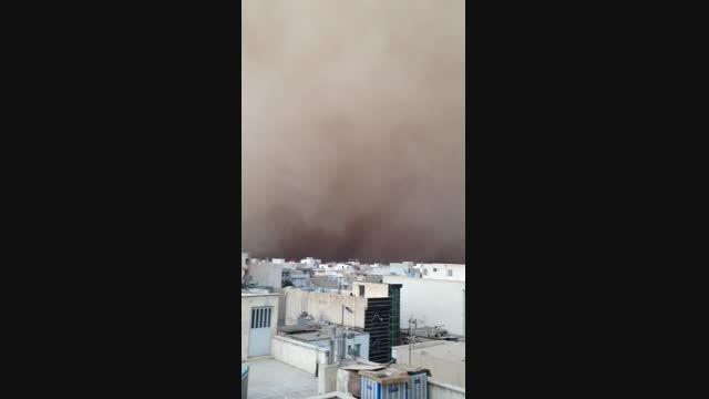 طوفان شن درتهران(سال ٩٣)
