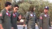 خلبان زن جنگنده پاکستان!!!