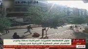 انفجار ماشین بمب گزاری شده جلوی سفارت ایران در لبنان