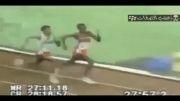 زدن پس گردنی محکم در حین مسابقه دومیدانی خخخخخخخخخ