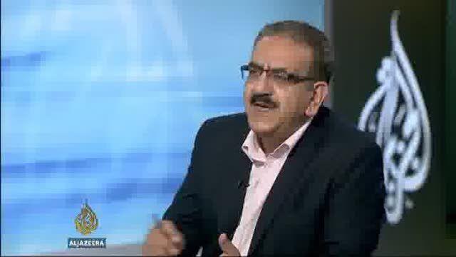 لحظه قرائت حکم محمد مرسی در دادگاه کیفری قاهره...