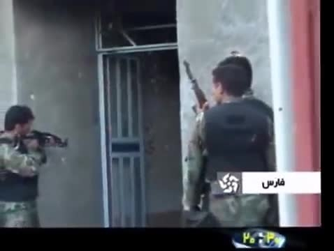 درگیری مسلحانه میان نیروی انتظامی و قاچاقچیان مواد