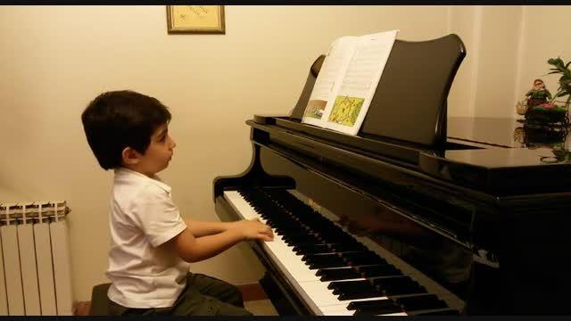 شادمانه-آوای پیانو-ایلیا قادری