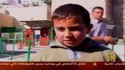 ترس سربازان اسرائیلی از بچه ها!!!!