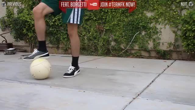 آموزش حرکات تکنیکی در فوتبال و فوتسال