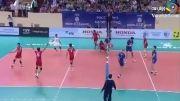 والیبال ایران 1-3 روسیه (بازی دوم ایران در لیگ جهانی والیبال)