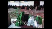 تعزیه شهادت حضرت زهرا (س) - قسمت { شکایت حضرت زهرا(س) از مردم مدینه سر قبر پیغمبر } خیمه داران ، کاشان 90