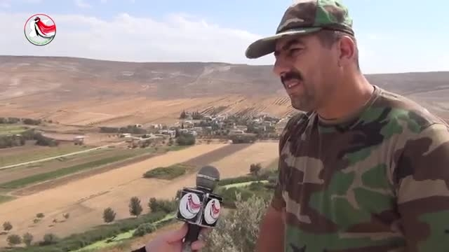 پیشروی ارتش و دفاع وطنی سوریه در حومه شمالی حماه