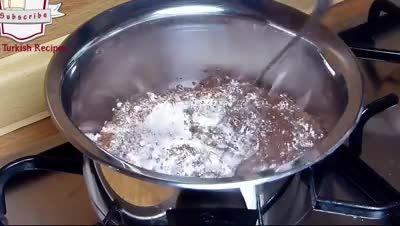 رویه شکلاتی کیک