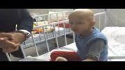 ملاقات احسان علیخانی از کودکان سرطانی